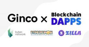 『仮想通貨ウォレットGinco』KyberNetwork、Etheremon、ZILLAとパートナーシップを締結