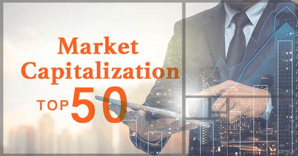 仮想通貨ランキングTOP50