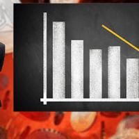 主要通貨+草コインの暴落率比較