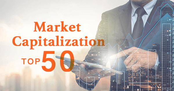 仮想通貨時価総額ランキングTOP50