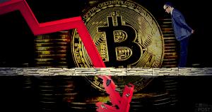 仮想通貨ビットコインが一時前日比-15%と暴落、リップルやライトコインなどのアルトコインも全面安