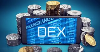 仮想通貨の分散型取引所(DEX)、月間の出来高が過去最高を更新