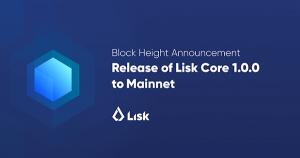 仮想通貨リスク、待望の独自ブロックチェーン「Lisk Core 1.0.0」公開日程を発表|今後の将来性は?