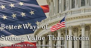 """米トランプ大統領の元主席経済顧問 「仮想通貨が""""新世界の扉""""を開くには、さらなる実用性が必要だ」"""