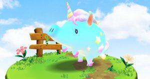 国内初のスマートフォン向けdAppsゲーム「くりぷ豚」:生産数20000記念でプレミア個体を付与