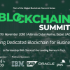 11月27日ドバイで開催の注目カンファレンス「Blockchain Summit Dubai」|IBM、ORACLE等もスポンサー決定