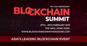 アジア最大級の注目カンファレンス「Blockchain Summit HongKong」|来年2月に香港で開催決定