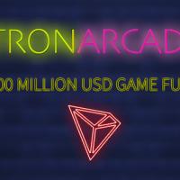 仮想通貨プロジェクトTRON、ブロックチェーンゲームファンド「TRON Arcade」に110億円規模の投資へ