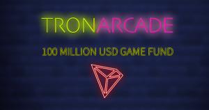 仮想通貨TRON、ブロックチェーンゲームファンド「TRON Arcade」に110億円規模の投資へ
