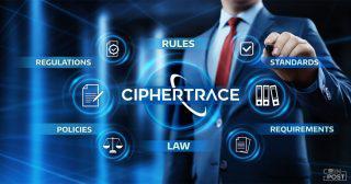 ブロックチェーンセキュリティ企業CipherTrace、700以上の仮想通貨銘柄に対応