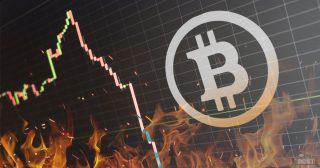 速報 ビットコイン急落、5分間で7万円幅 BitMEXでロスカット連鎖が発生