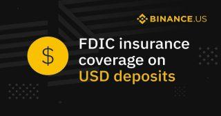 米国版バイナンス 顧客の米ドル預金が連邦預金保険公社(FDIC)の保障対象に