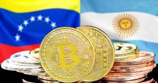 アルゼンチンとベネズエラ、BTC出来高が過去最高に